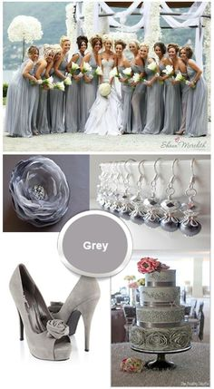 grey #Labola loves #bridesmaid #dresses.. follow us on Facebook to stay inspired for your big day . www.labola.co.za