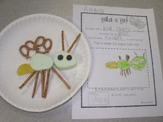 bug party, insect unit, food journal, insect art, bye bye, stem, snack, art activities, first grade