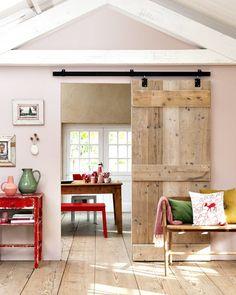 Room divider: Barn-style door