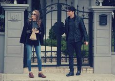 Find images and videos about medcezir and serenay sarikaya on We Heart It - the app to get lost in what you love. Turkish Beauty, Turkish Fashion, Casual Outfits, Fashion Outfits, Victoria Secret Fashion, Turkish Actors, Winter Fashion, Bomber Jacket, Street Style