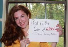 """CONTEST ALERT!! Haisten Scribbler, author of children's book """"Red is the Color of...,"""" tells the story of a little girl who hates her red hair. But, her mother names all of the wonderful things in the world that are red.  We want you to fill in the blank and show us what red means to YOU! The most creative will win a 'redhead friendy' package.  Post your pic on Instagram, Twitter and Facebook using the hashtag #RedistheColor"""