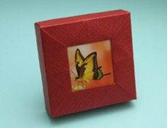 origami fotoframe