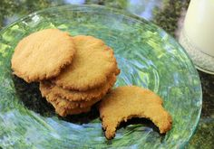 Crispy Chewy Honey Cookies - AIP, Paleo