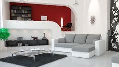 "NEW BLACK CORNER SOFA BED""OLIVIA"" CHEAP PRICE MANY COLORS | eBay"