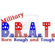 Military BRAT by Myisha. Actually it stands for British Regiment Attached Traveler which was stamped on trunks of military families heading overseas.>>>I never knew that. Thank you former pinner. Military Brat, Army Brat, Military Quotes, Military Love, Military Veterans, Military Families, Navy Life, Army Mom, Support Our Troops