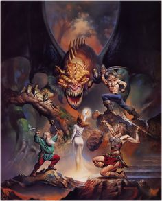 Boris Vallejo - Myth & Magic