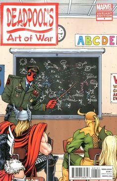 Deadpool's Art of War (2014) 1B