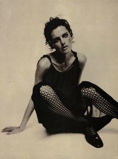 Fashion Tale Magazine: Stella Tennant in the sweet 90's    Italian Vogue Jul 1996   Photographer: Paolo Roversi