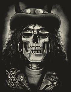 Slash Skull art