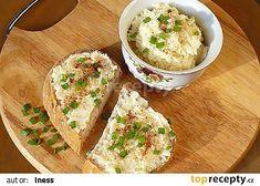 Tvarůžková pomazánka (dle kluků v akci) recept - TopRecepty. Mashed Potatoes, Ethnic Recipes, Food, Whipped Potatoes, Smash Potatoes, Essen, Meals, Yemek, Eten