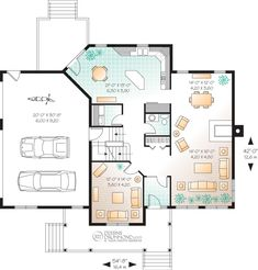 house_plan_maison_etage_2_stories_RDC_W3826