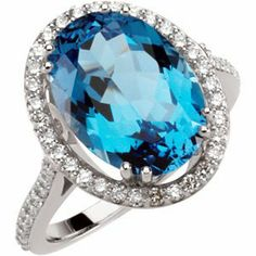 7.50 Ct Swiss Blue Topaz and 1/2 Cttw Diamond Ring in 14k White Gold, (GH Color, I1 Clarity, .50 Cttw), Size 7 The Men's Jewelry Store http://www.amazon.com/dp/B007J0QXAU/ref=cm_sw_r_pi_dp_GeLNtb0KDPRWR277