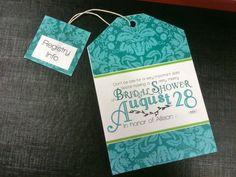 Updated 'Un'Bridal Shower Invitations :  wedding mad hatter tea party bridal shower invite diy IMG 2273