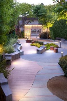 Formosa Pocket Park in West Hollywood, CA by Katherine Spitz Associates