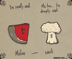 #Vegetable Moods: meloncauli #funny #humor