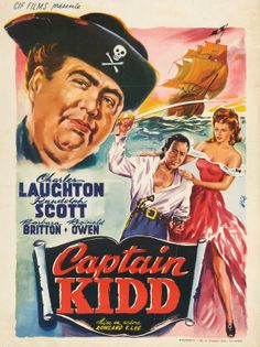 "Movie Poster of the Week: ""The Private Life of Henry VIII"" and Charles Laughton in Posters on Notebook Old Movies, Vintage Movies, Great Movies, Iconic Movie Posters, Cinema Posters, The Canterville Ghost, Pirate Cosplay, Randolph Scott, Italian Posters"