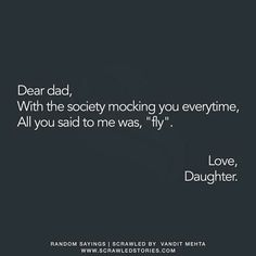 Daddy Daughter Quotes, Love My Parents Quotes, Mom And Dad Quotes, Meant To Be Quotes, Father Quotes, Father Daughter, My Mind Quotes, Hard Quotes, Bff Quotes