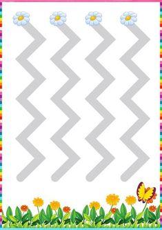 pre writing line sheets « Preschool and Homeschool Lego Activities, Drawing Activities, Printable Activities For Kids, Preschool Learning Activities, Indoor Activities For Kids, Preschool Printables, Kids Learning, Writing Center Preschool, Numbers Preschool