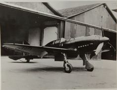 Regia Aeronautica Re.2005 prototype photographed at the factory, spring 1942; note the lack of a radio mast behind the cockpit