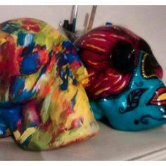 Skull color's
