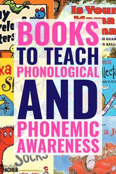 10 Inviting Phonemic Awareness Books Your Students Will Love – A Teachable Teacher – art therapy activities Teaching Phonics, Phonics Activities, Kindergarten Literacy, Reading Activities, Reading Skills, Teaching Reading, Therapy Activities, Reading Fluency, Teaching Ideas