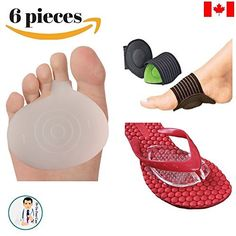 Dr Go - Toe Pain Relief Kit - 6 Piece of Metatarsalgia, Neuroma Pain Relief, Arch Pain, Sandal Pads, Toe Pain Cushion, Orthotics, Shoe Insert, Toe Cushion, Foot Pain Relief, Flat Foot Pain 5, http://www.amazon.ca/dp/B01GI69E06/ref=cm_sw_r_pi_s_awdl_b88GxbG2GCX3J