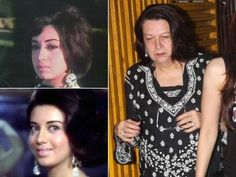 Babita, who acted in many movies, can be seen with daughters Karishma and Kareena in social functions