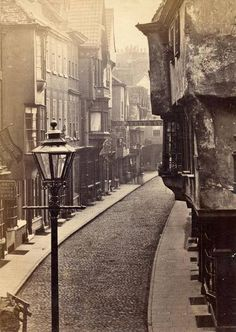 York Stonegate in the 1800's
