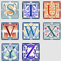 Latin Phrase Stencil Designs from Stencil Kingdom