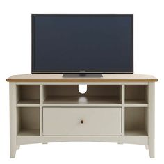 """BuyJohn Lewis Alba TV Stand for TVs up to 41"""", Soft Grey Online at johnlewis.com"""