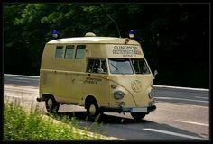 Type 2 hitop vw bus ambulance