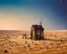 Banco de Imágenes Gratis: 17 pinturas digitales by Jacek Yerka (Surreal Painting)
