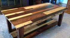 Tables the o 39 jays and dining rooms on pinterest for Reclaimed wood bend oregon