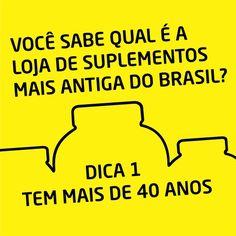 Você sabe qual é a loja de suplementos mais antiga do Brasil?