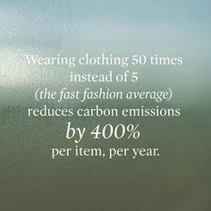 regram @globalfashionexchange Staggering Fact: A perfect reason to swap, recycle…