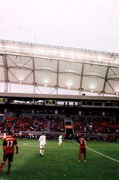 Soccer has started!  RSL's home season opener is on Saturday.  Cannot wait.