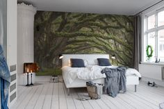 Hey, look at this wallpaper from Rebel Walls, Fairy Forest! #rebelwalls #wallpaper #wallmurals