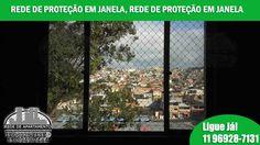 REDE PARA JANELA DE APARTAMENTO