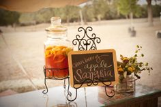 RUSTIC WEDDING PARTY SIGNS | ... In: Country Weddings , Real Rustic Country Weddings January 13, 2012