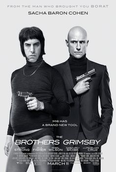 THE BROTHERS GRIMSBY movie poster No.3