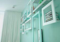 foorni.pl | Mieszkanie w pastelach, oryginalne półki
