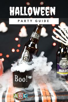 Find all of the tricks and treats you will need to plan the perfect Halloween party. Our experts have picked the best wines, spirits and beers for your costume party and even paired some frightful food for your ghoulish guests to enjoy.