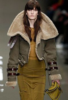 Modern Take on the Lady Aviator Look - may need one of these jackets for co-piloting.