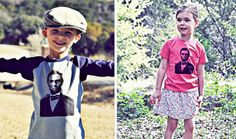 T-Shirts featuring American Super Heroes - Abraham Lincoln, Isaac Newton, and More