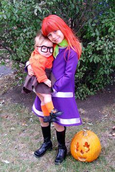 Daphne and Velma costumes