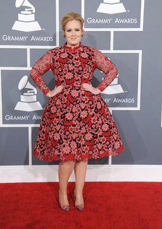 Adele / Valentino  GRAMMY 2013