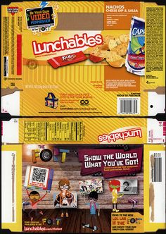 Lunchables | Kraft Foods – Lunchables – Nachos Cheese Dip & Salsa – Kit Kat ...