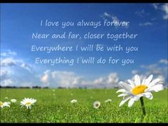 Donna Lewis - I Love You Always Forever (Lyrics) Always Forever Lyrics, Love You Forever, Unique Wedding Songs, Wedding Music, Fun Songs, Songs To Sing, Love Songs, Music Love, Kinds Of Music