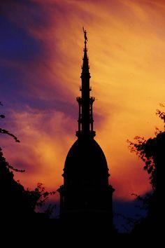 #novara #monument #urban #sky #sunset #emanuelemeschini