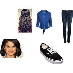 """selena gomez outfit"" by diamonddestiny4 on Polyvore"